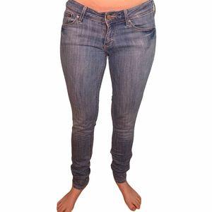 4/$40 - H&M Super Skinny Blue Jeans - 29Wx34L